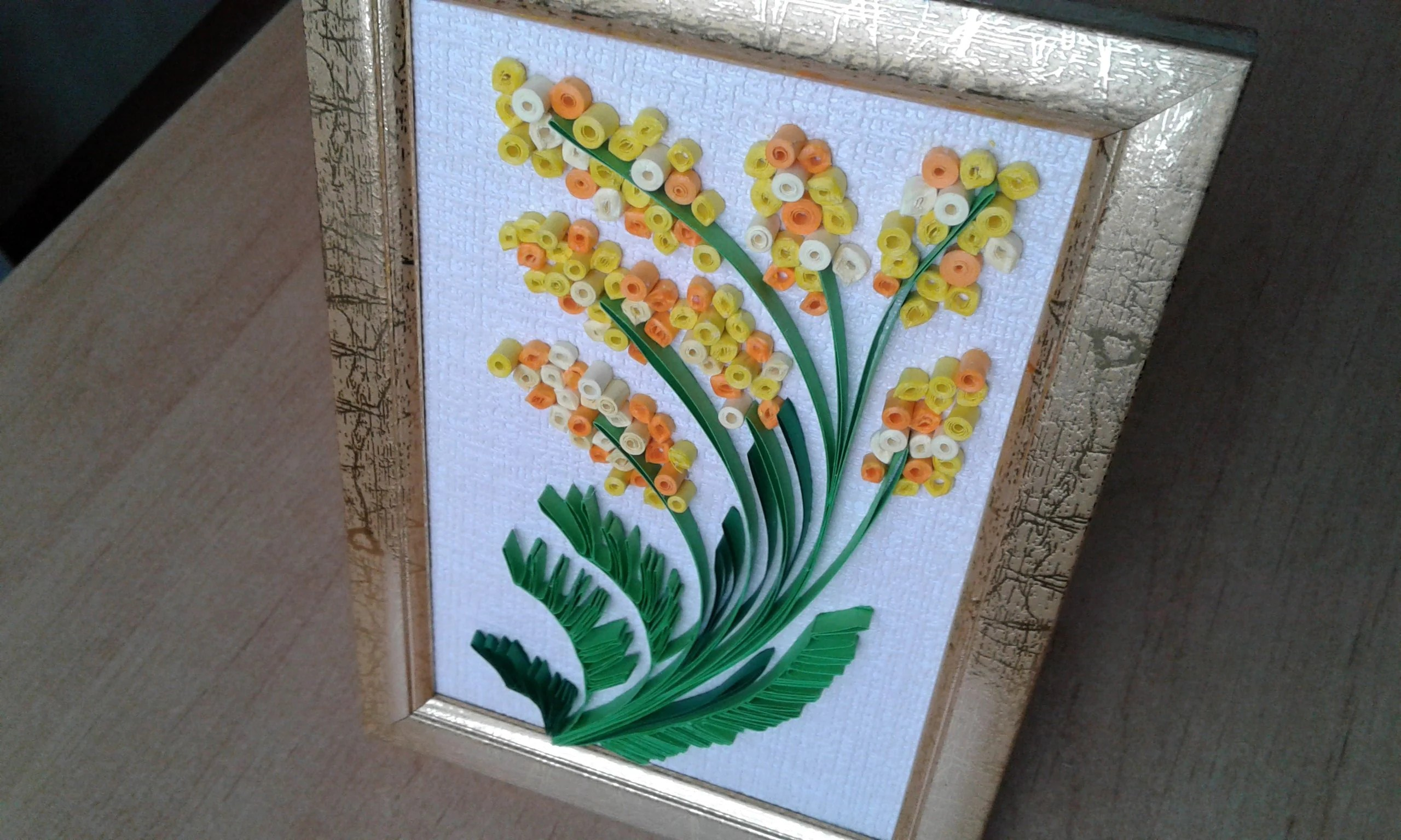 Decorative Items With Quilling