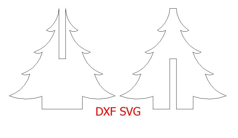 Items similar to SVG and DXF file for laser and cnc
