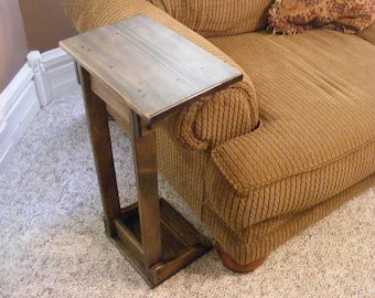 sofa arm recliner sets rest table etsy 26 30 computer stand plant