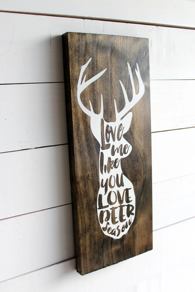 Download Love Me Like You Love Deer Season Deer Love You Deerly   Etsy
