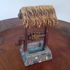 Wishing Chair Photo Frame Propane Fire Pit And Chairs Fairy Garden Miniature Resin Well For Your Etsy Image 0