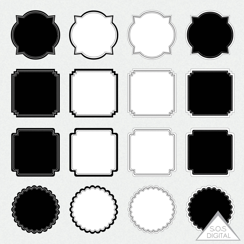 simple digital frames square
