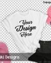 T Shirt Mockup Flat Lay Shirt Shirt Mock Up Transparent Etsy