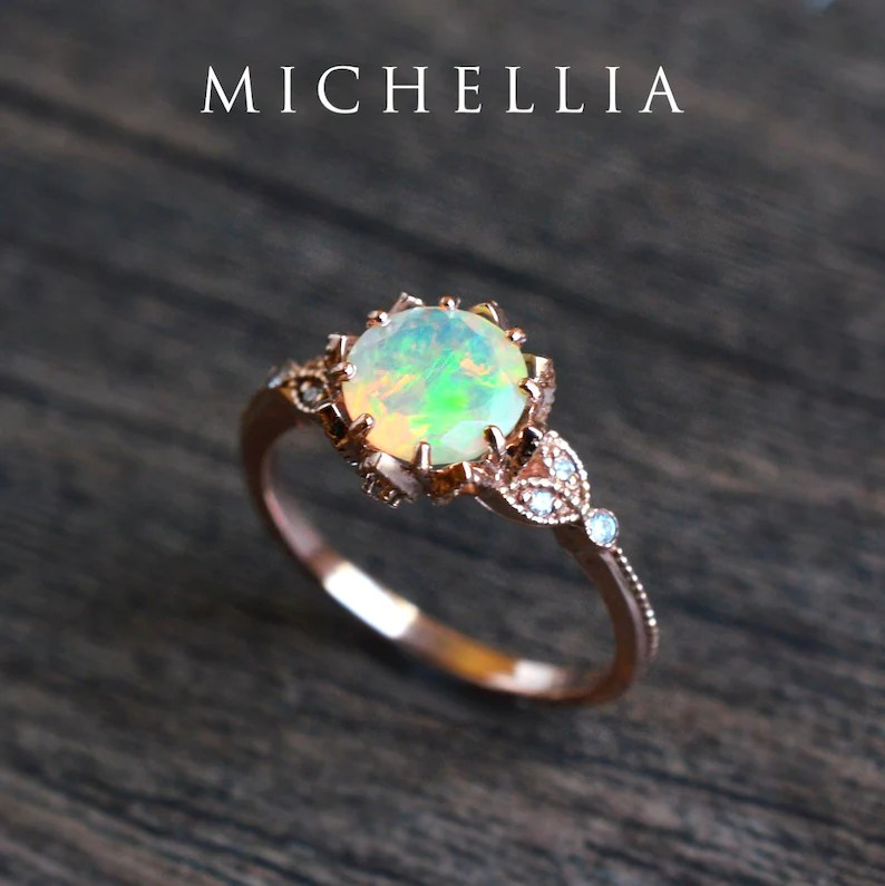 evanthe opal engagement ring