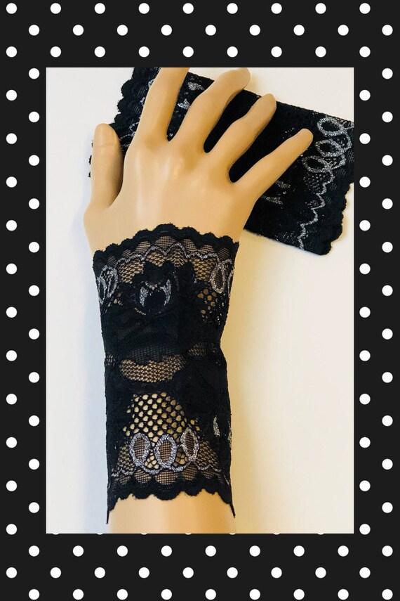 Wrist Tattoo Covers : wrist, tattoo, covers, Black, Tattoo, Cover, Wrist, Cuffs