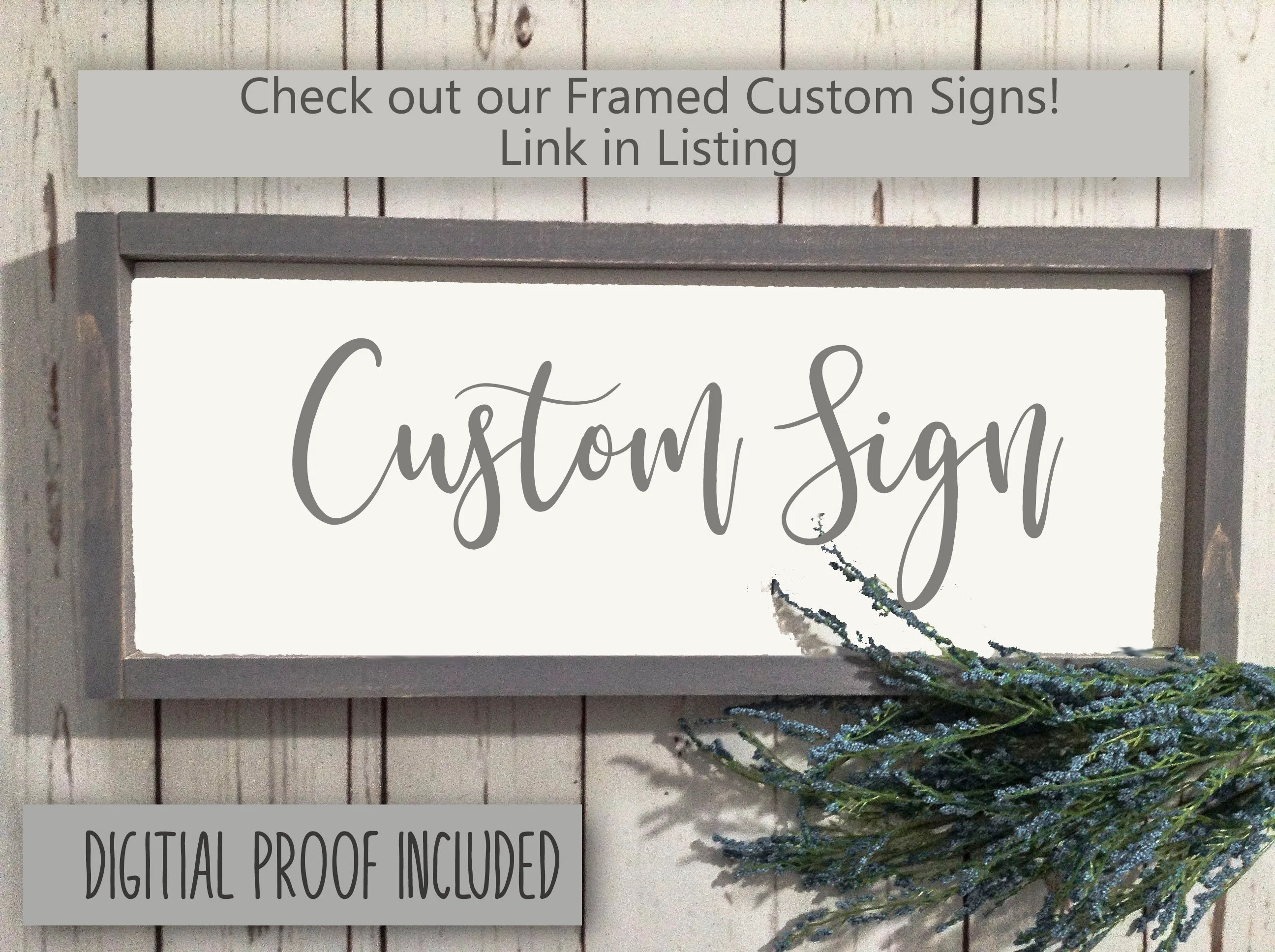Custom wood signs Custom Signs Wood Sign Custom Wood Sign image 1