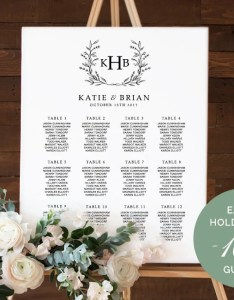 Image also wedding seating chart table plan instant download etsy rh