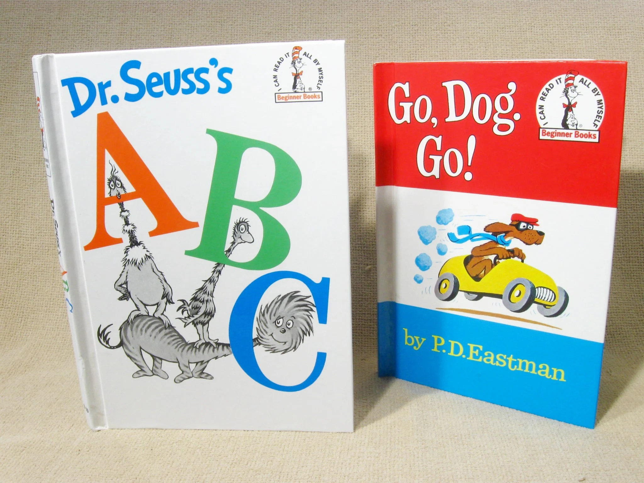 Beginner Books Dr Seuss Abc Go Dog Go I Can Read It All By