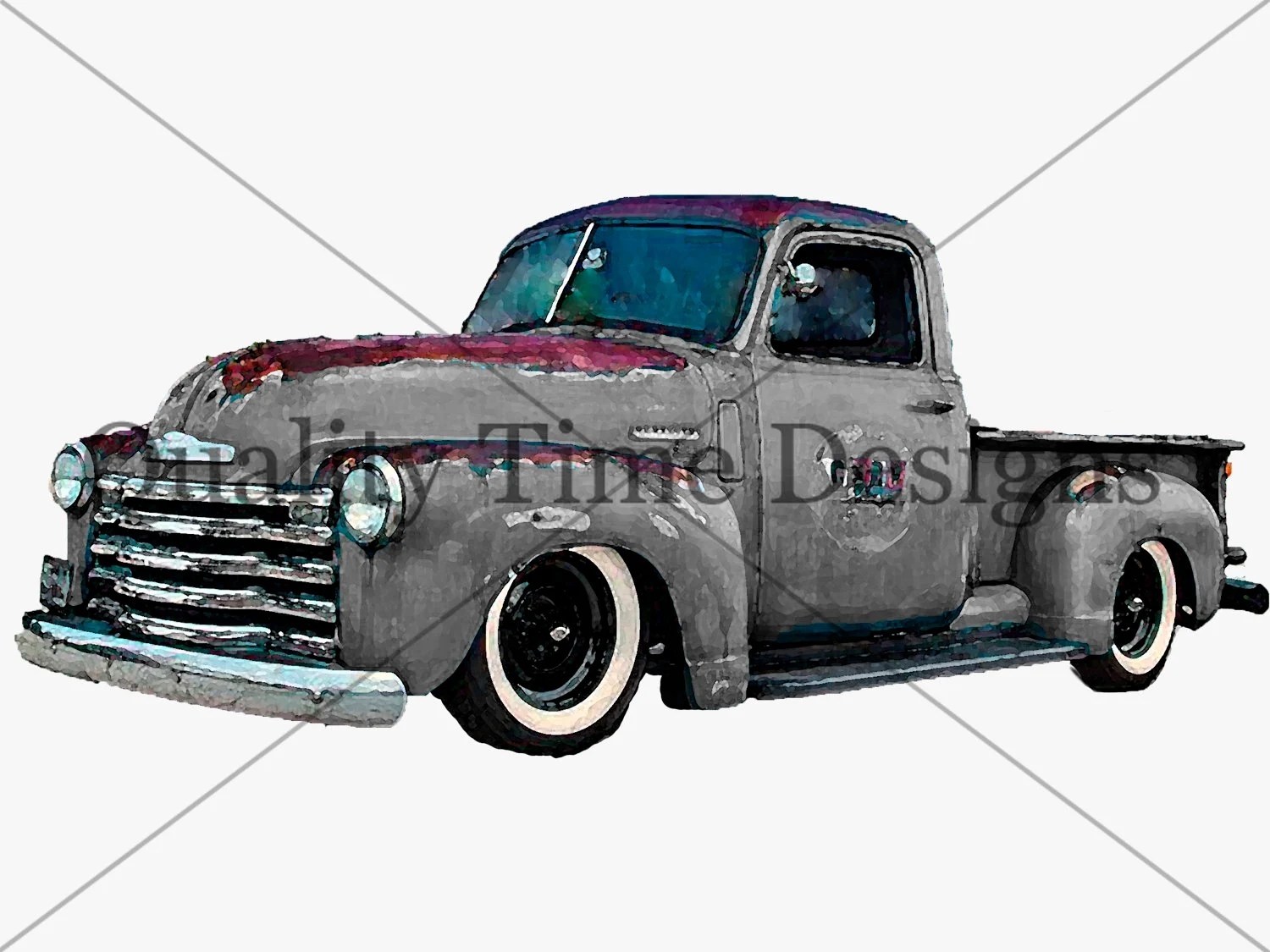 hight resolution of black gray vintage retro chevy truck clipart instant download graphic imagevintage truck clipart rusty rustic country chevy pickup