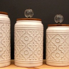 Kitchen Deco Replacing Sink Faucet Rustic Decor Etsy Large Set Of 4 Canister For Flour Jar Sugar Coffee Farmhouse