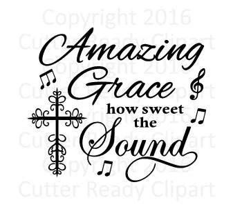 Amazing Grace SVG Amazing Grace Sign Clip Art Amazing