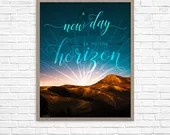 New Day Horizon Printable...