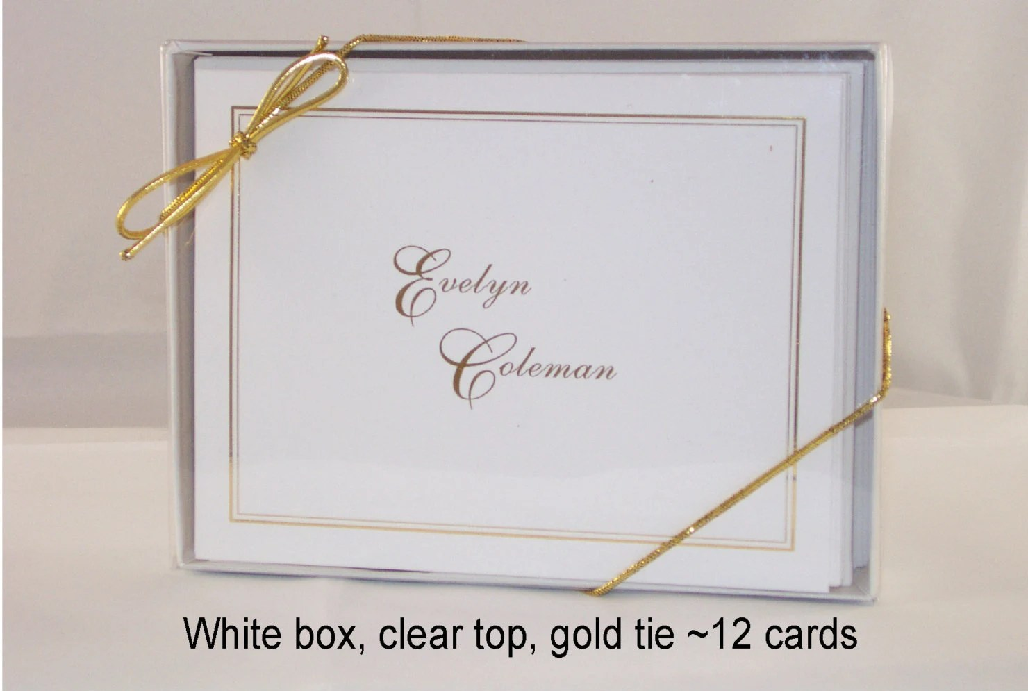 deckled edge note cards
