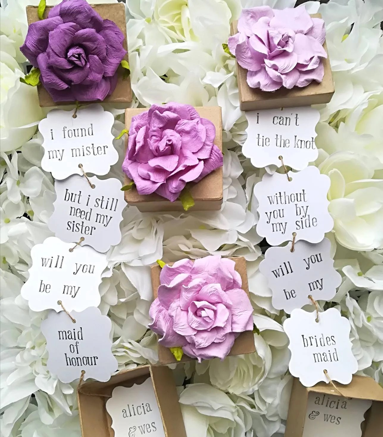 Will you be my Bridesmaid Proposal Box // Maid of Honor Proposal Box // Bridesmaid Proposal // Personalized Gift Box // Bridesmaid Card                                                                    PleaseElloise         From shop PleaseElloise                               5 out of 5 stars                                                                                                                                                                                                                                                          (170)                 170 reviews                                                      CA$11.50