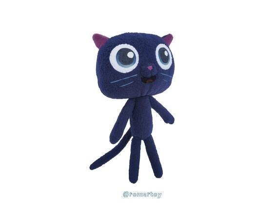 Bartleby Cat Plush True And The Rainbow Kingdom Etsy