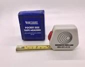 TagMaster Pocket Size Measuring Tape Buckeye Pipeline Promotional Item Marketing Advertising Original Package