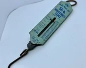 Vintage Spring Scale Household Scale Handi Weigh-All Luggage Scale