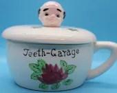 Teeth Garage Vintage Denture Cup - So Cute!