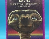 E.T. The Extraterrestrial - Vintage Card Game - 1980's