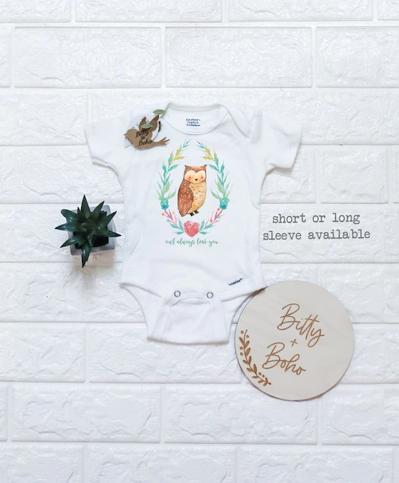 Owl Baby Clothes : clothes, Onesie®, Clothes, Shower
