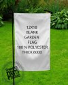 Blank Garden Flags Sublimation 12x18 Single Sided 100 Etsy
