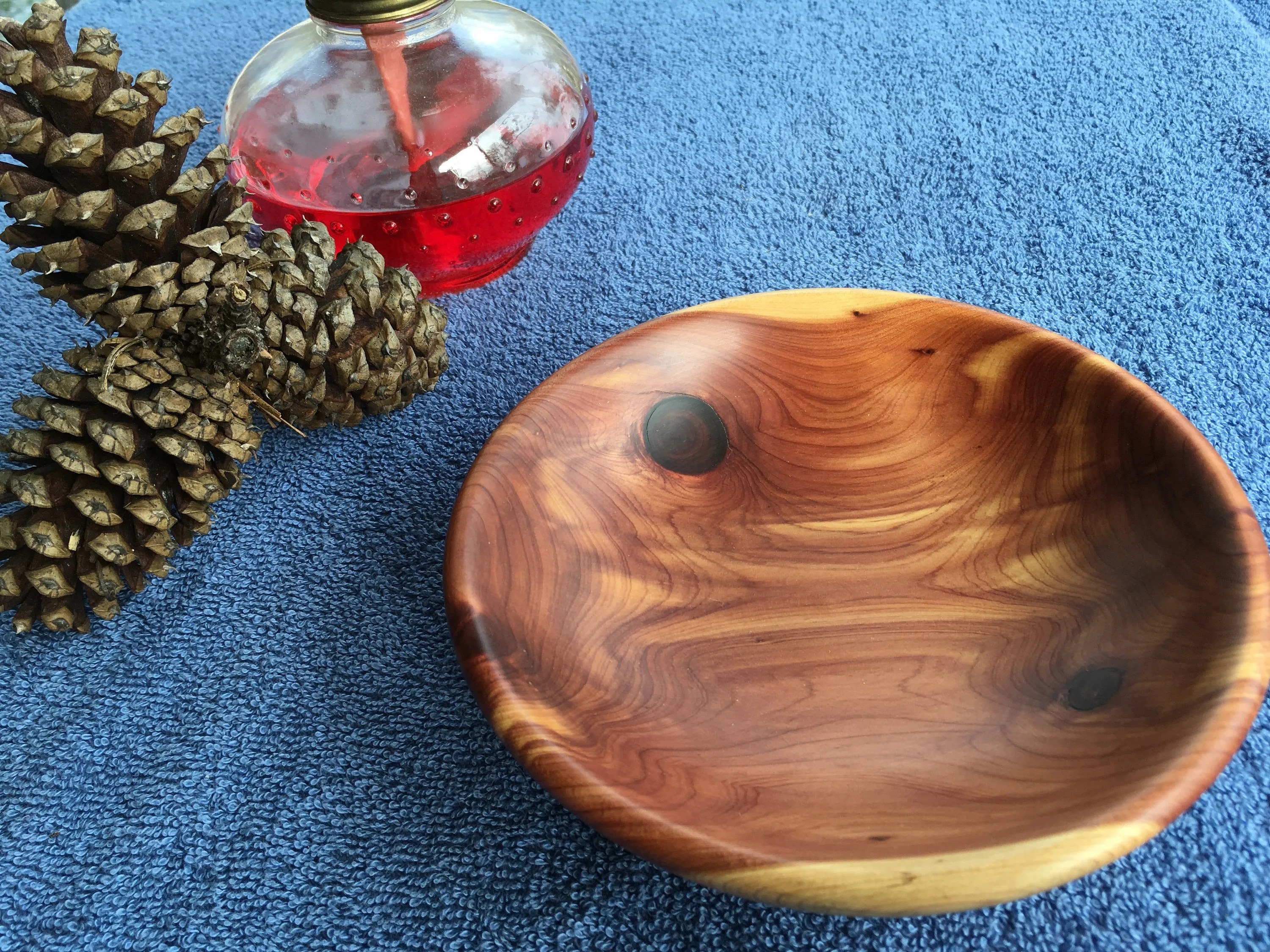 Cedar Bowl Turning