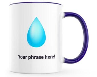 droplet emoji etsy