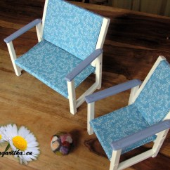 American Doll Chair Ashley Furniture Kitchen Table And Chairs Large Wooden Bench For 18 Inch Waldorf Etsy Image 0