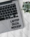 Trackpad Laptop Decal Mockup Laptop Mockup Decal Mockup Etsy