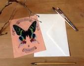 Urania Ripheus Butterfly ...