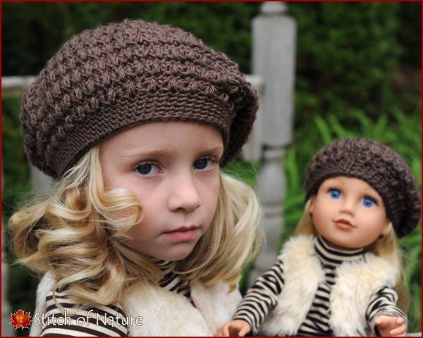 Crochet Pattern Collins Vintage Beret Scally Cap