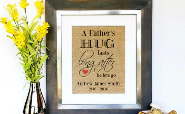 In Memory Of Dad Sympathy Gifts Men Death Of Dad Death Of