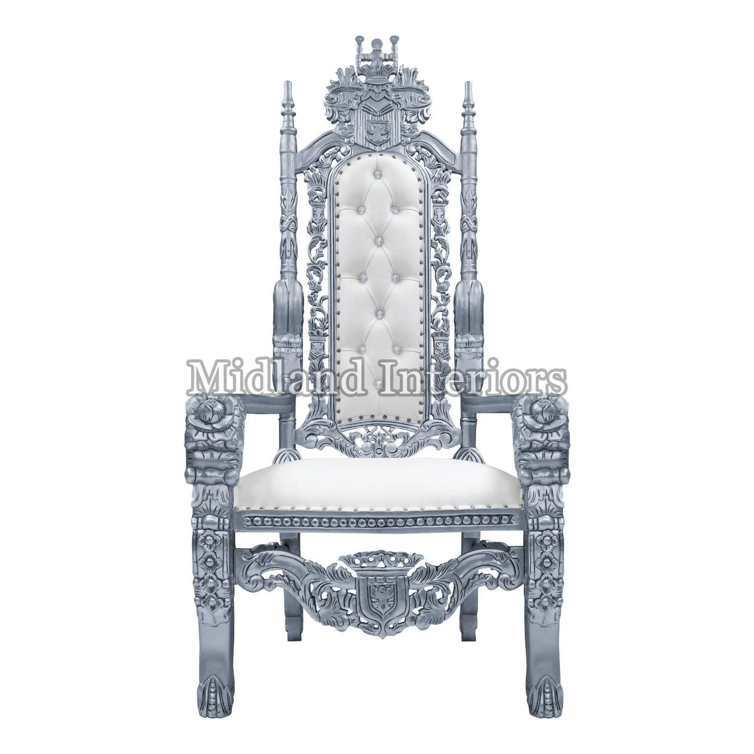 throne chair cover most expensive massage etsy pre order rose king wedding 180cm silver