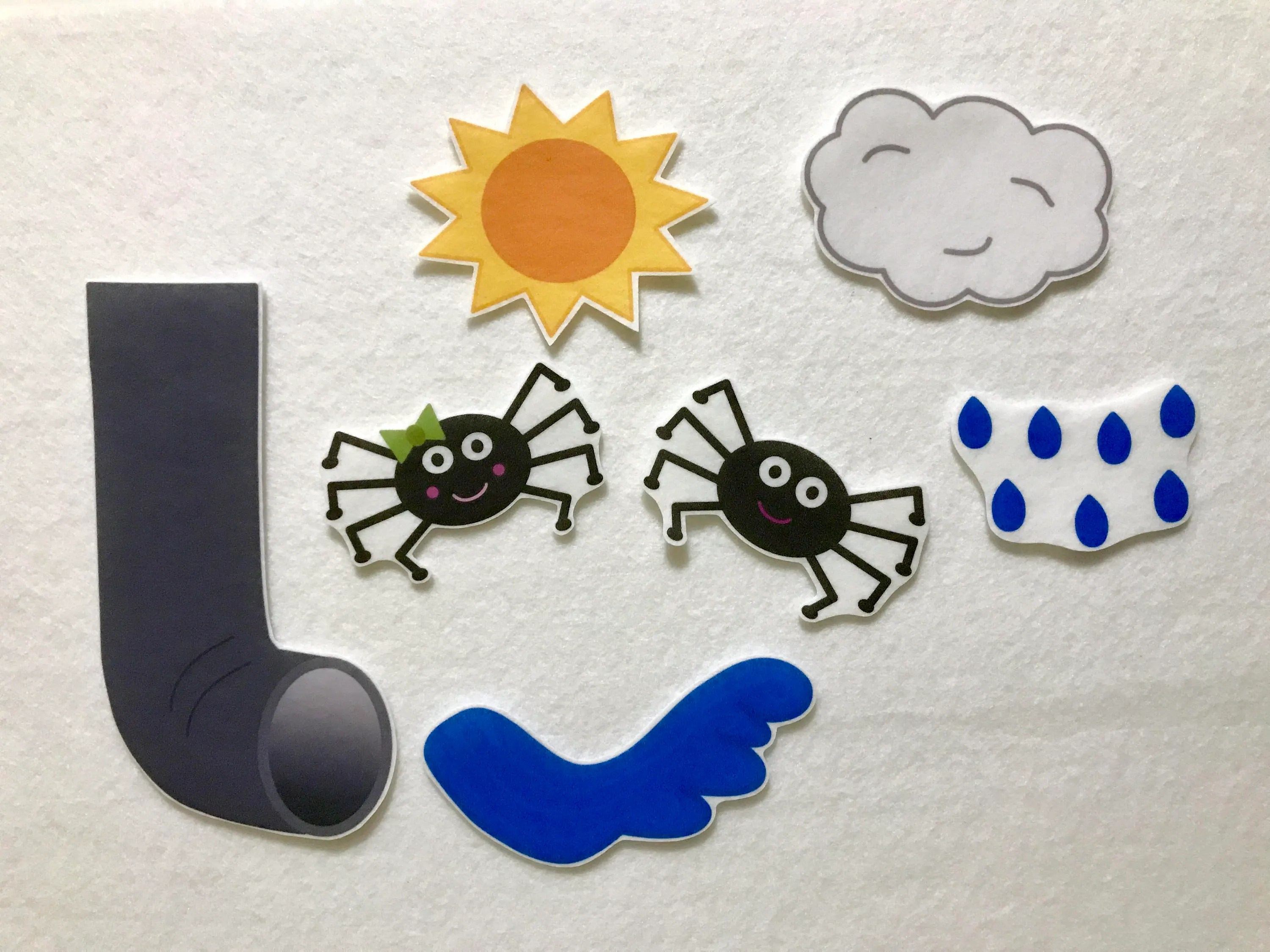 Itsy Bitsy Spider Felt Stories Flannel Board Speech