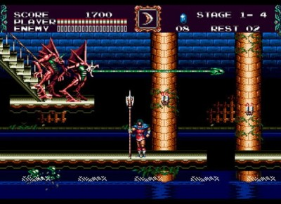 Image result for Castlevania: Bloodlines genesis