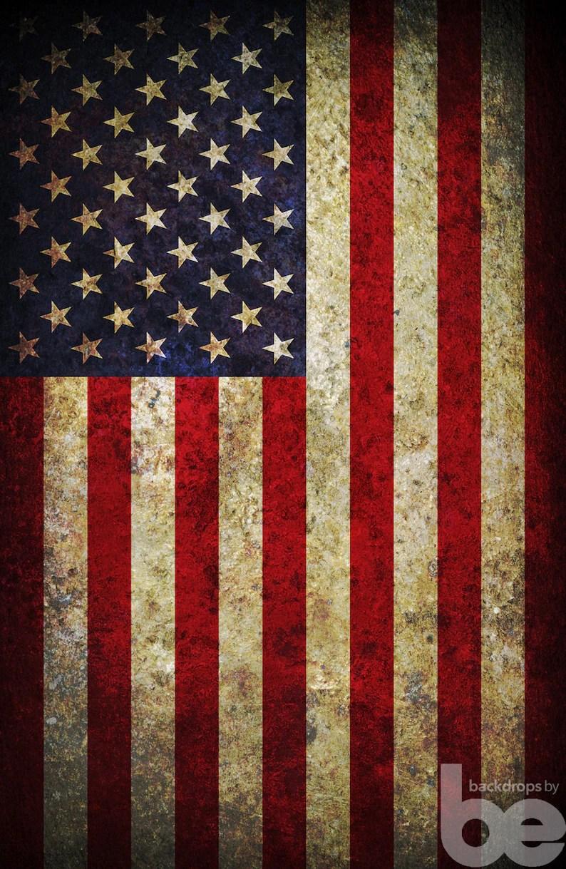 vintage american flag 4th