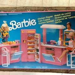 Barbie Kitchen Playset Drawer Organizer Mattel 1990 Vintage New And Etsy Image 0