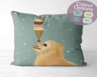 dog pillow etsy