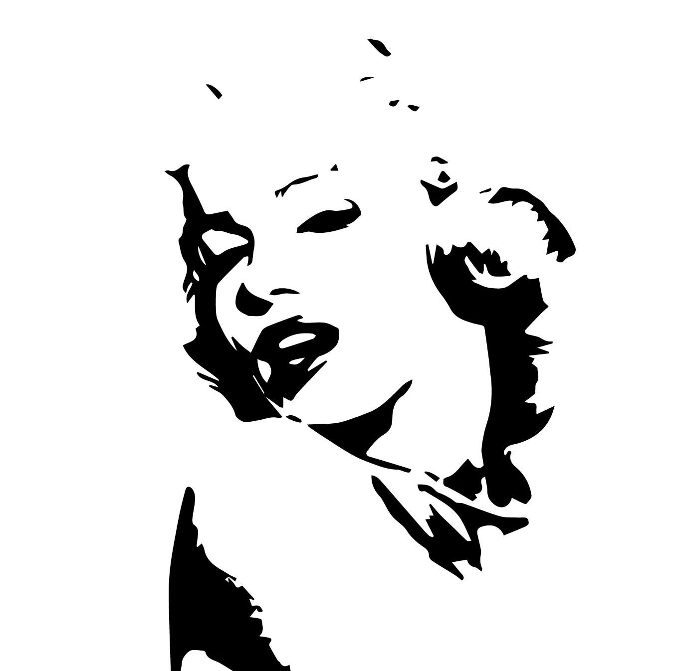 Marilyn Monroe Eps Files Marilyn Monroe Silhouette Actress