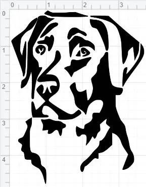 Labrador Retriever Design SVG EPS DXF pdf Studio 3 Cut