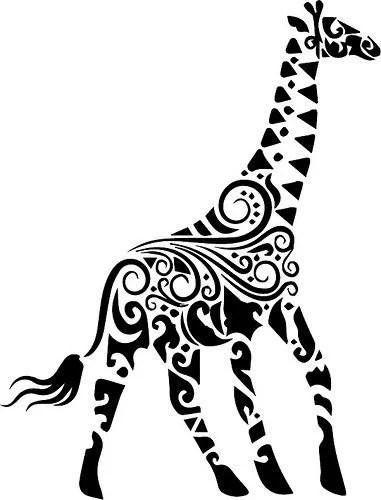 Tribal Animal 5 Design Collection SVG EPS DXF Studio 3 Cut