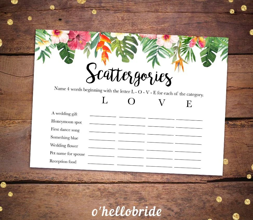 photograph about Scattergories Lists 1-12 Printable known as Scattergories Checklist 1 4 - Calendar year of New Drinking water