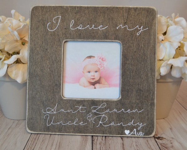 Aunt And Uncle Frame Custom Love
