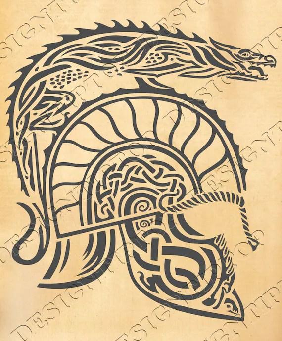 Viking Helmet Silhouette : viking, helmet, silhouette, Viking's, Helmet, Vikings, Celtic