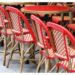 Parisian Cafe Chairs Refinish Outdoor Rocking Chair Paris Etsy Bistro Red Valentine Photography Kitchen Decor French Home Travel