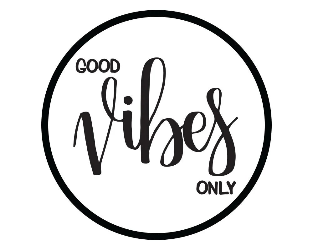 Good Vibes Only Inspirational Printable Art Motivational