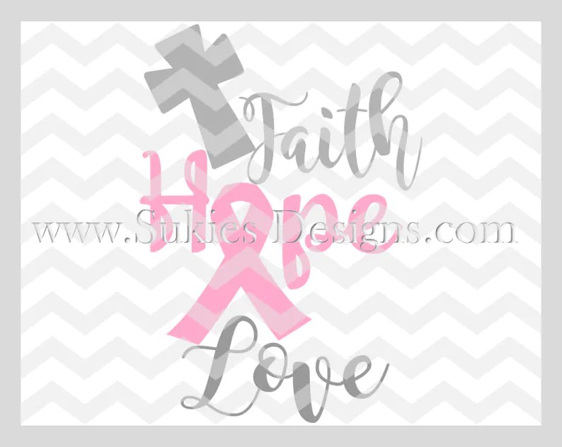 Download Faith Hope Love SVG For Cricut and Cameo DXF for ...
