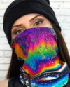 Face Mask Tube Scarf Mariner S Compass Print On Etsy