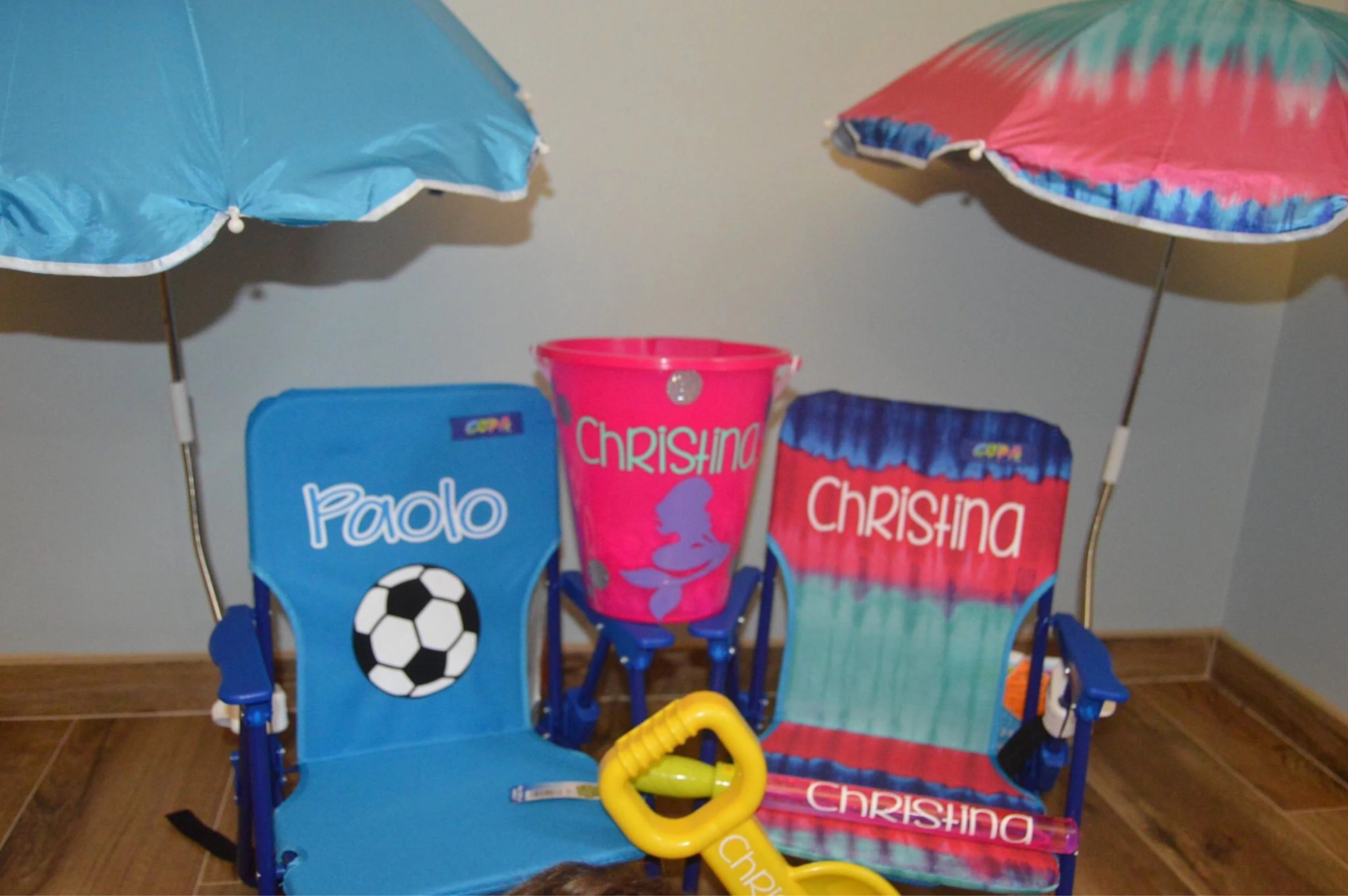 toddler beach chair personalized the chords umbrella etsy
