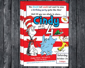 dr seuss invitation etsy